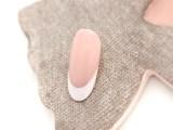 Wedding nail art – French