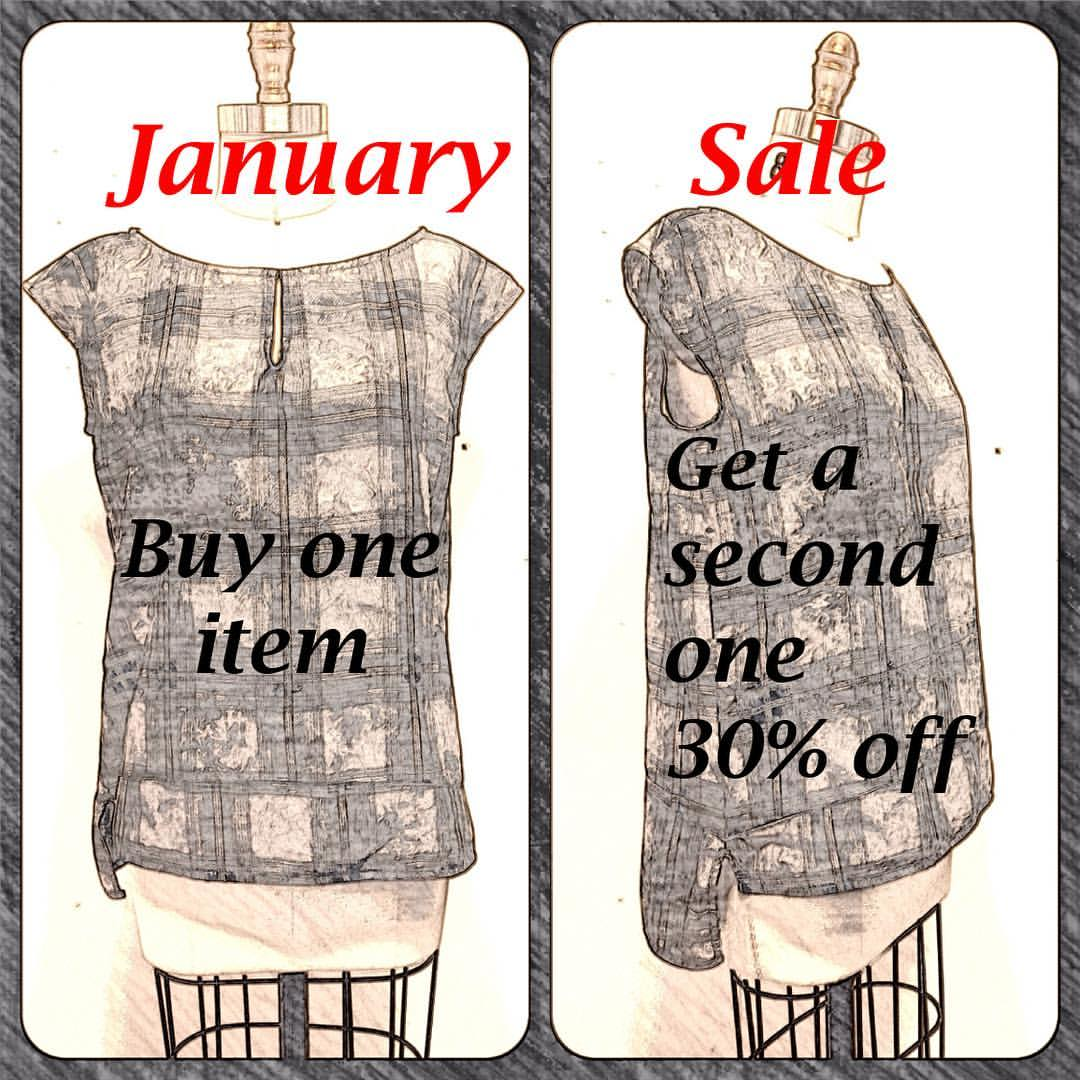 Winter sale at Sassafras in Seattle