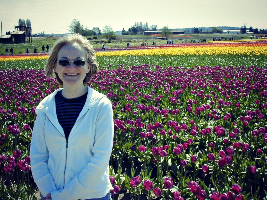 Tulip Festival near Mount Vernon, Washington.