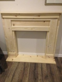 DIY Faux Fireplace & Mantel
