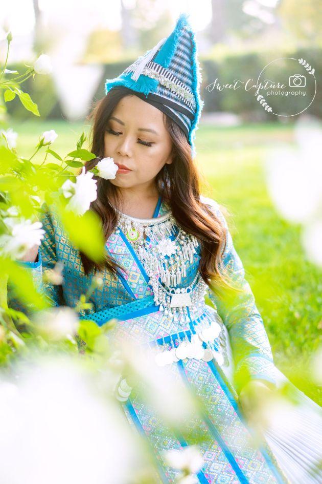 DSC01242-683x1024 Hmong Outfits Series :: Paj Ntaub Cog Ci Hmong Outfit Series OUTFITS