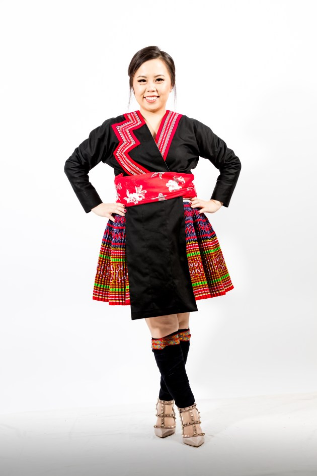 A2A0642-683x1024 Hmong Outfit :: Red Appliqué & Zig Zags DIY HMONG