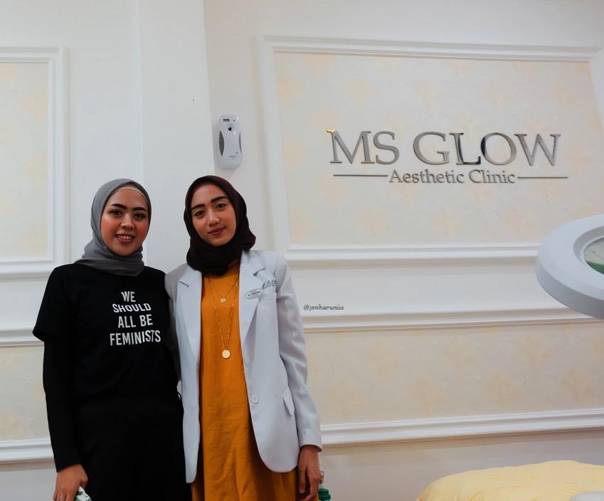 Konsultasi dokter Ms Glow Clinic Bandung