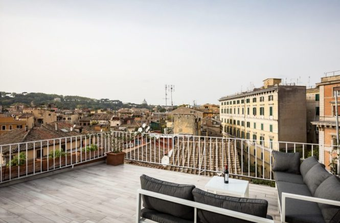 Rome Apartments With A Terrace To In Trastevere