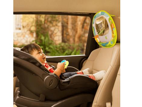 Voyager avec bébé Miroir musical surveiller bébé en voiture Munchkin