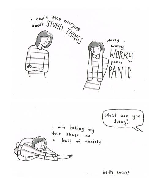 20 artistes font 20 illustrations pour expliquer l'anxiété