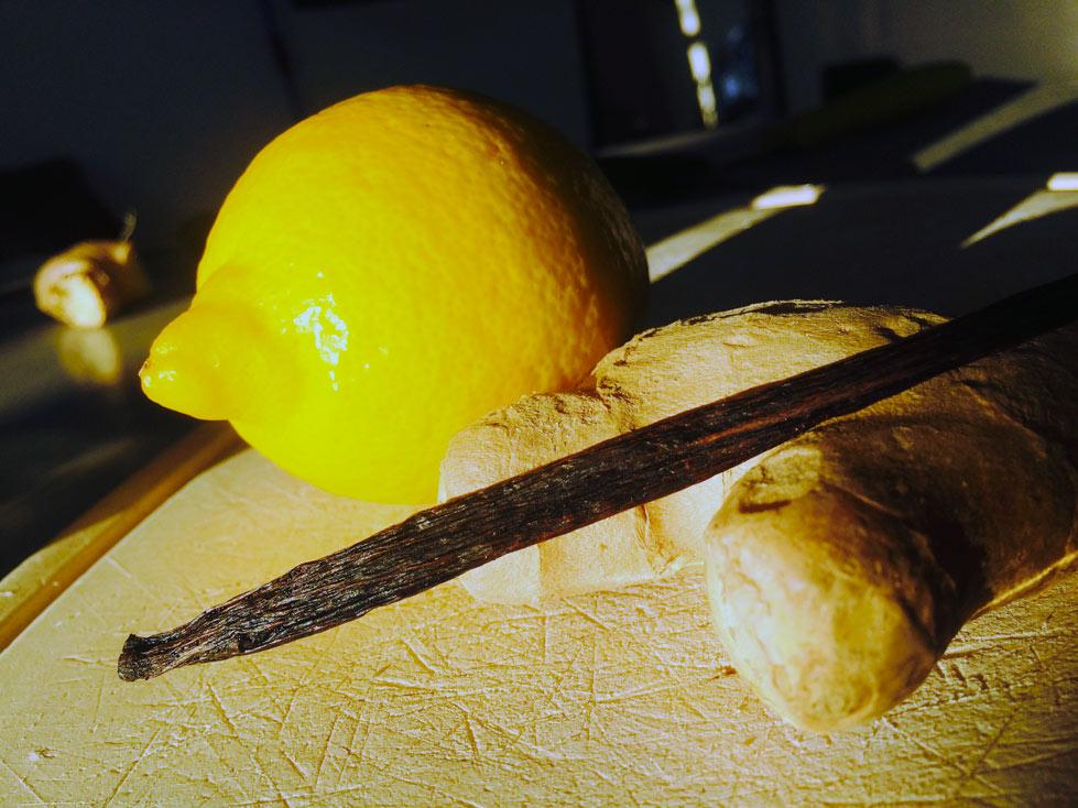 rhum arrange citron gingembre