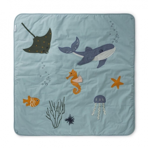 tapis d eveil glenn animaux de la mer
