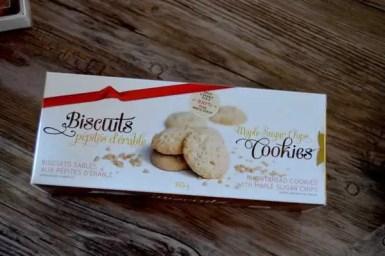 Cookies Pépites d'érable