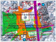 121-122 Транспорт и паркиране и Ландшафтна система