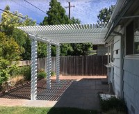 Durawood Attached patio cover Sacramento, CA