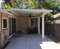 Roof Attached Mount Patio Cover Sacramento, CA