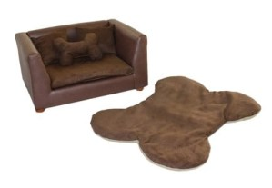 Keet Deluxe Orthopedic Memory Foam Dog Bed Set