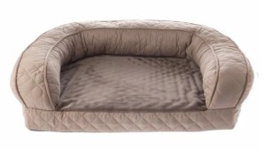 Top Paw Quilted Couch Dog Bed