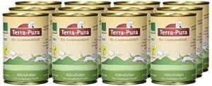 terra pur bio hundefutter linsenmahlzeit 350g 12er pack 12 x 350g