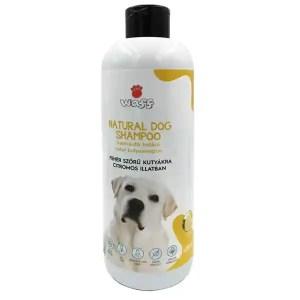 Waff Natúr kutyasampon, hamvasító, fehér szőrzetre, citromos
