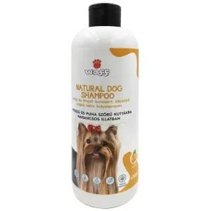 Waff Natúr kutyasampon, Hosszú, lágy és puha szőrzetre, narancsos