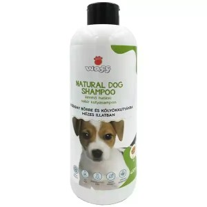 Waff Natúr kutyasampon, kölyök kutyáknak, érzékeny bőrre, kímélő, mézes