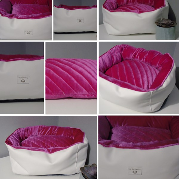 Princess dog bed  collage opt