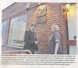 Kós Károly emléktábla avatás - 24 óra tudósítása