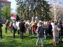 A lengyeli áldozatokra emlékeznek a tatabányaiak