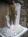 Esterházy szobor makett