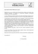 levél Esterházy-Malfatti Alicénak 2008.01.17