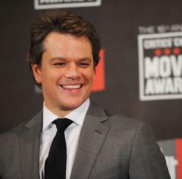 Matt Damon diz que atuar com animais selvagens foi maravilhoso