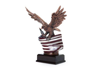 Patriot Eagle Memorial Keepsake