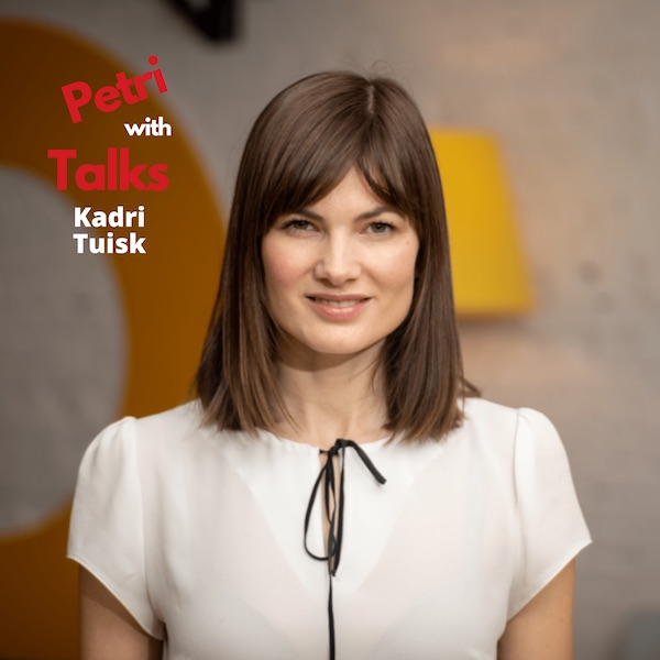 Personalised learning with service design thinking by Kadri Tuisk - Talks with Petri podcast