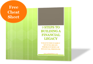 Free 3-D 7 Steps to Begin Building a Financial Legacy FINAL cover page