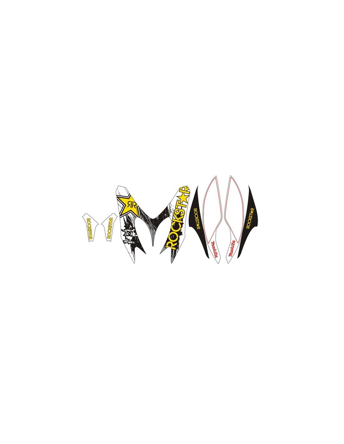 Kit grafiche adesive x Yamaha Aerox / MBK Nitro 2012