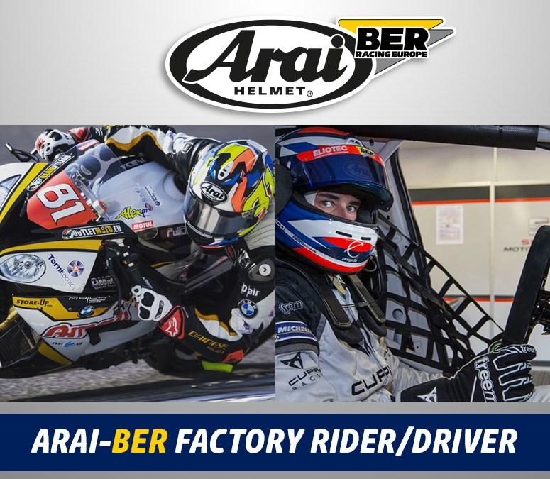Petrolhead Italia a supporto di BER Racing Europe per le sponsorizzazioni Arai