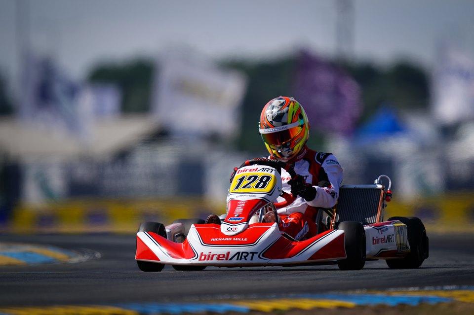 Alex Irlando concludes 16th the FIA Karting Euro Championship