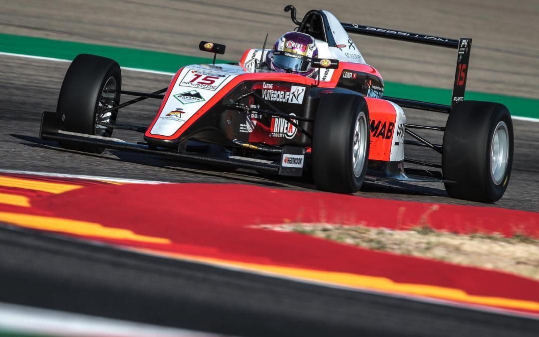 Léna Bühler, top 5 in the Spanish F4 Championship in Aragon!