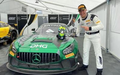 Double GT4 podium for Luca Bosco at Zandvoort!