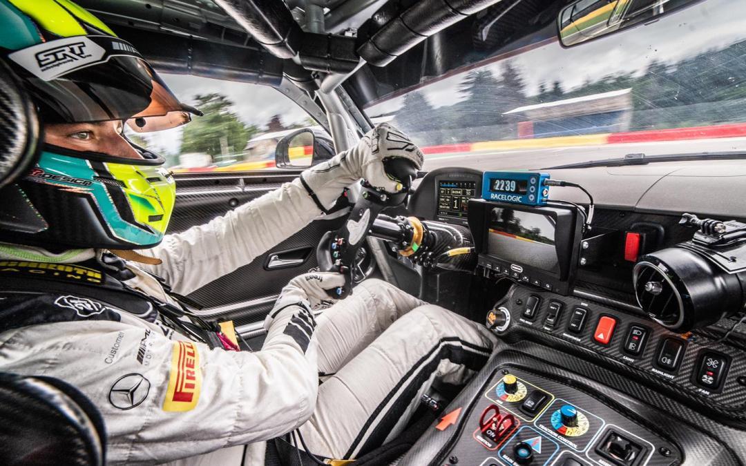 Luca Bosco makes his debut at Spa-Francorchamps