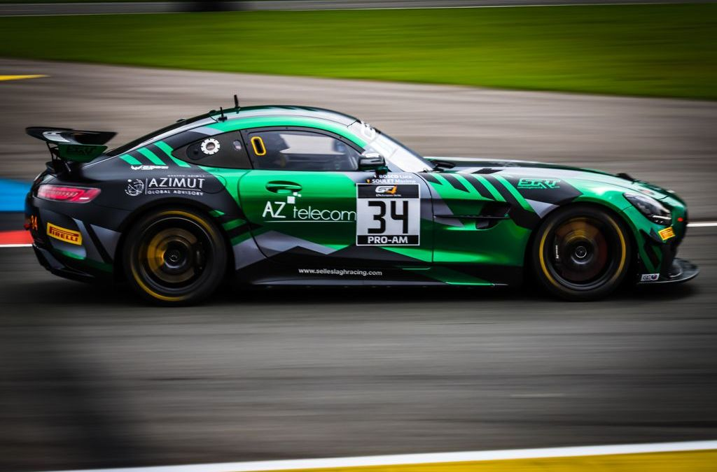 """Luca Bosco di nuovo in pista """"nell'inferno verde"""" del Nurburgring"""