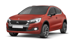 CITROEN DS 4 CROSSBACK Bluehdi 120 S&sEat6 Moondust Rossa Fronte