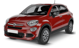 FIAT 500X N1 1.3 Mjet 95cv 4x2 Lounge rosso fronte