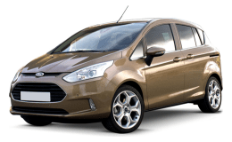 FORD B-MAX 1.5 Tdci 95cv Dpf Business Titanium marrone fronte
