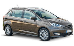 FORD GRAND C-MAX 2.0 Tdci 150cv S&s Powershift Titanium marrone fronte