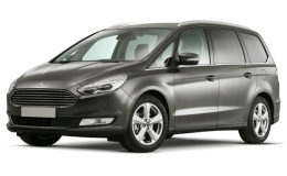 FORD GALAXY 2.0 Tdci 150cv S&s Pshift Tit.Business grey fronte