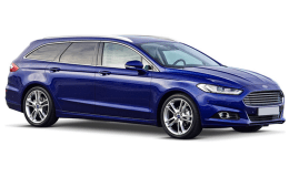 FORD MONDEO SW 2.0 Tdci 180cv S&s Pshift Awd Tit. Bus blu fronte