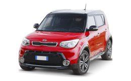 KIA SOUL Eco Electric You Soul rossa fronte