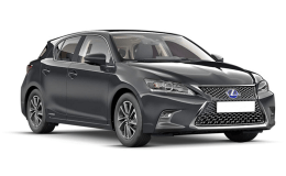 LEXUS CT 200h Limited Edition nera fronte