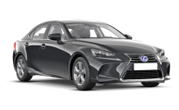 LEXUS IS 300h Luxury nera fronte