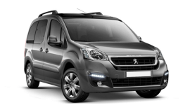 PEUGEOT PARTNER Tepee Full Electric Active grigia fronte