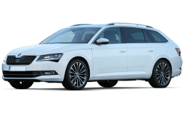 SKODA SUPERB SW 1.6 Tdi Executive 88kw Dsg BIANCA FRONTE