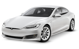 TESLA MODEL S 100 Kwh Performance 4wd bianca fronte